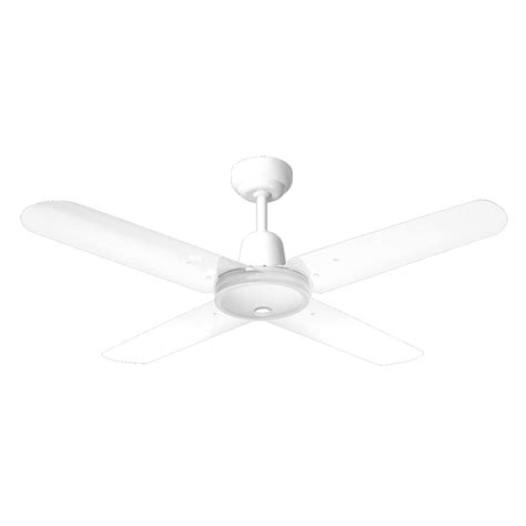 hpm 1200mm white ceiling fan hang sure 4 blade i n 4441524 bunnings warehouse