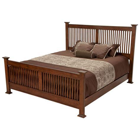 oak park panel bed collection eastern king panel bed in solid oak