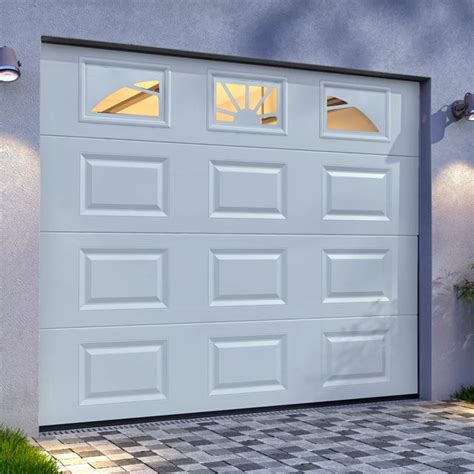 porte de garage sectionnelle premontee 1 porte dentr233e fen234tre volet et porte de garage
