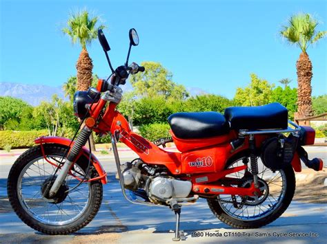 1980 Honda Ct110 Trail Survivor Bike Not Ct70