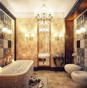 Vintage Fliesen Bad : badausstattung ideen 13 ultimative badezimmer mit romantischem flair ~ Markanthonyermac.com Haus und Dekorationen
