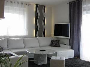 Wohnzimmer Gestalten Grau : wohnzimmer 39 wohnzimmer in grau wei gr n 39 mein domizil mit neuen farben zimmerschau ~ Markanthonyermac.com Haus und Dekorationen