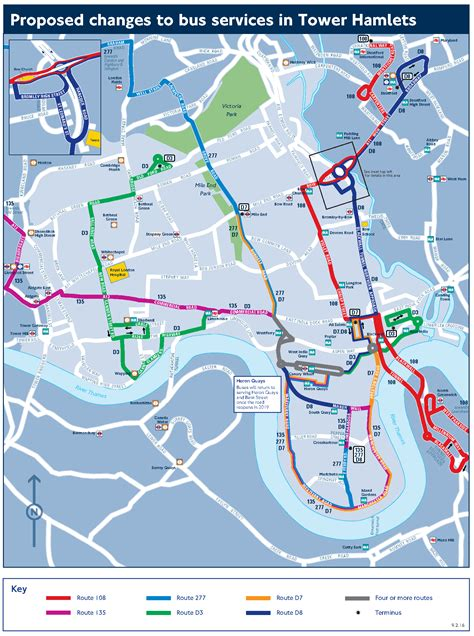 Boat From Tower Hill To North Greenwich by Proposed Changes To Bus Services In The Isle Of Dogs Area