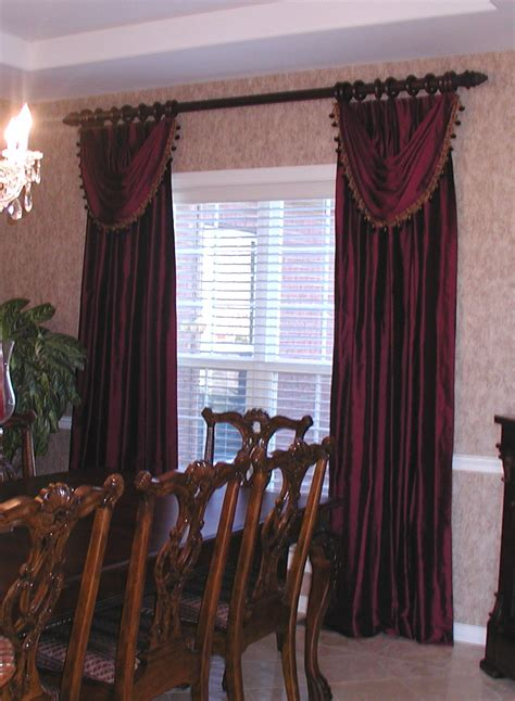 Fancy Dining Room Curtains Myideasbedroomcom