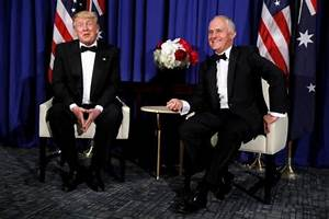 """Trump, Australia's Turnbull declared that they """"get along ..."""