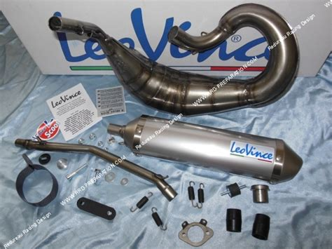 exhaust leovince x fight high passage for derbi drd sm enduro gilera rcr www rrd