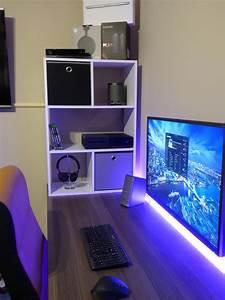 Gaming Zimmer Ideen : new battlestation setup pinterest schreibtisch tisch und m bel ~ Markanthonyermac.com Haus und Dekorationen