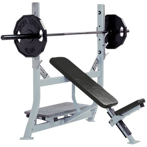 Hammer Strength Olympic Incline Bench  Life Fitness