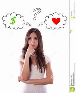 Money Or Love Stock Photos - Image: 32767063