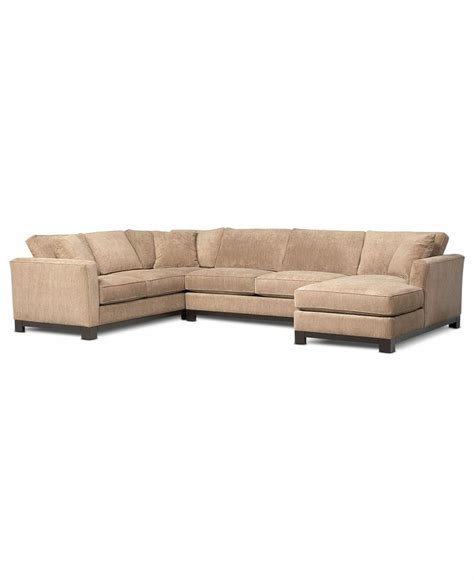 kenton fabric 3 chaise sectional sofa