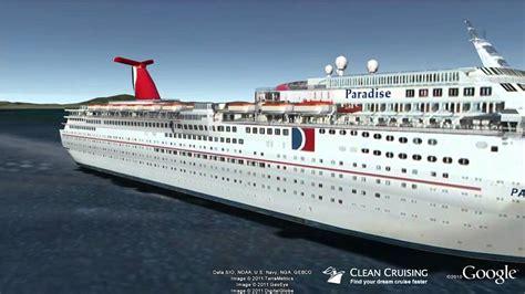 carnival paradise ship tour