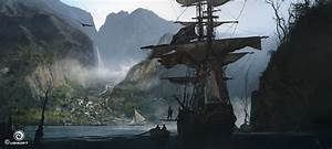 Assassin's Creed IV Black Flag Concept Art by Martin ...