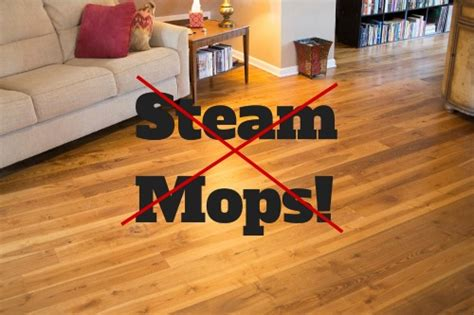 why steam mops are a big no no for your hardwood floors