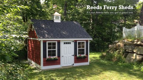 reeds ferry sheds traditional sheds boston by