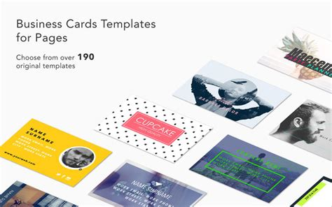 Business Cards Templates For Pages