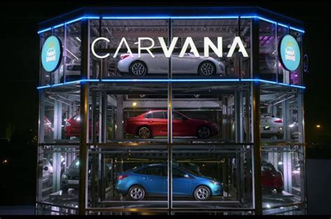 Carvana Launches The First Fullyautomated, Coinoperated