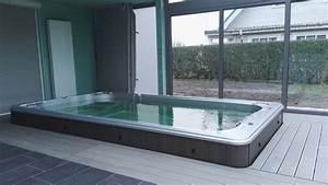 Whirlpool Im Wintergarten : teilversenkter swimspa in wintergarten wellnessdrops ~ Markanthonyermac.com Haus und Dekorationen
