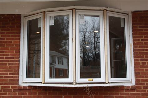 Before & After Modern Bow Window  Replacement Windows