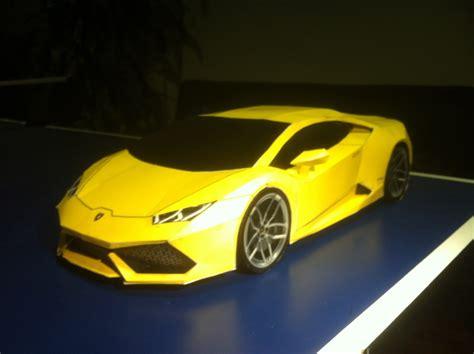 Lamborghini Huracan Paper Model
