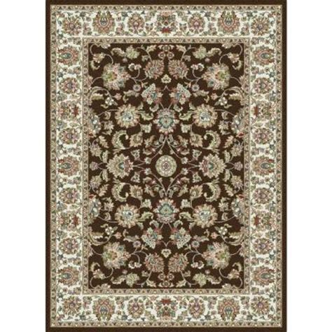 home depot area rugs 5x8 tayse rugs brown 5 ft 3 in x 7 ft 3 in