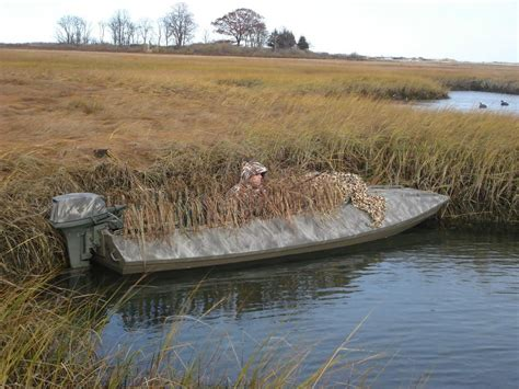 Duck Hunting Boat Build by Duckhunter Wooden Boat Plans Hunting Fishing