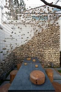 Steine Für Die Wand : diy trockenmauer gabionen steinwand selber bauen ohne beton ~ Markanthonyermac.com Haus und Dekorationen