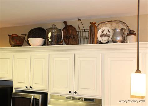 above kitchen cabinet decor top of kitchen cabinets decoration pictures house