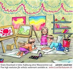 Kinder Bilder Malen : zeichnungsunterricht bildnerisches gestalten malen agnes live karikaturen zweihandshow ~ Markanthonyermac.com Haus und Dekorationen
