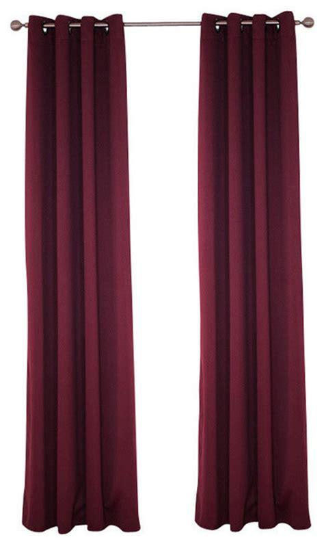 lavish home blackout grommet curtain panel 84 quot length