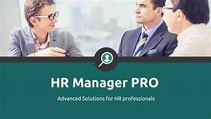 HR Manager Pro | VisualHackers