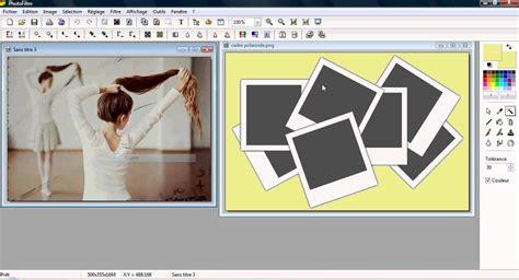 tuto photofiltre mettre une image dans un cadre polaroid