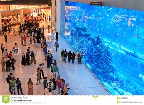 aquarium dans le mail de duba 239 le plus grand centre commercial du monde image stock 233 ditorial