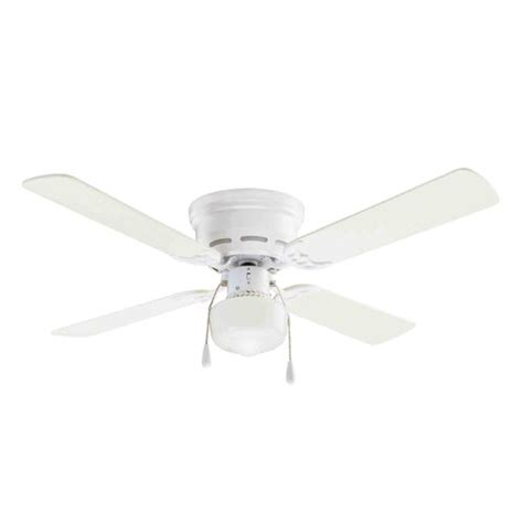 mainstays 42 quot ceiling fan with lighting white paint home decor walmart