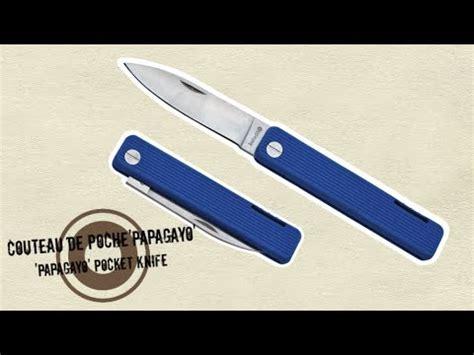 le top couteaux de poche bleu outre mer couteaux pliants et pliables