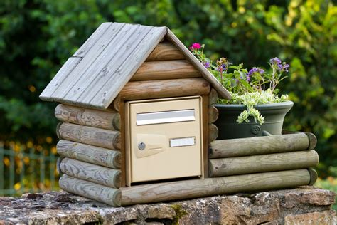 g 233 nial boite au lettre en bois 1 suisse grand mod 232 le boite aux lettres en bois de type