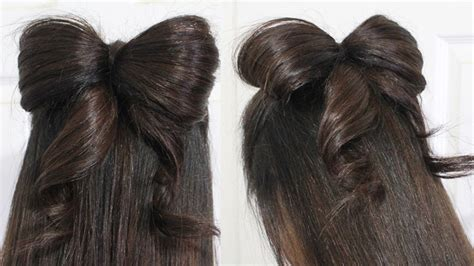 Hair Bow Tutorial Hairstyle Half-updo For Medium Long Hair Natural Hairstyles Done At Home Toddler Haircut Tampa Hair Tutorial Upstyle Party For Relaxed Tips Look Younger Half Up Down Indie Easy Overnight Tricks Pixie Dress