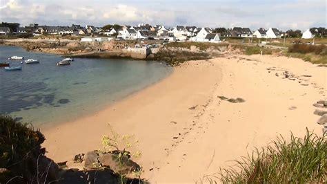 ploemeur plage de port blanc bateaux kerroch morbihan bretagne