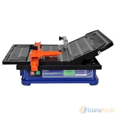 vitrex electric tile saw cutter with blade