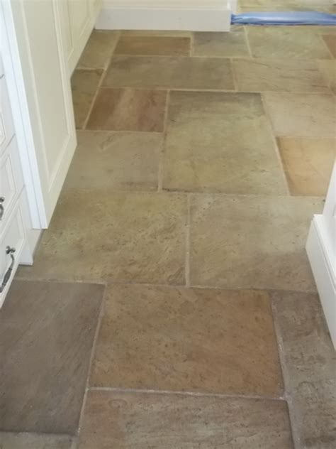 sandstone tile cleaning in beyton suffolk tile doctor