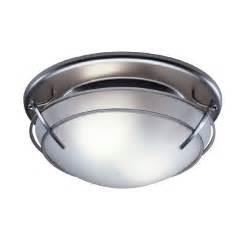 shop broan 2 5 sone 80 cfm satin nickel bathroom fan with light at lowes