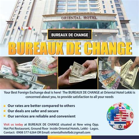 bureaux de change hotel foreign exchange made easy connect nigeria