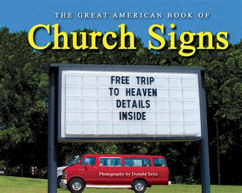 Lame Church Signs  The Jumbled Backpack