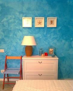 Wandmuster Streichen Ideen : mit farbe wandmuster streichen kreative wandgestaltung ~ Markanthonyermac.com Haus und Dekorationen