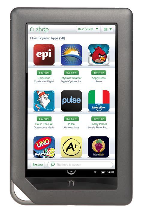 barnes and noble app nook color app reach 1 million downloads