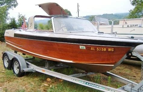 Old Century Boats For Sale by 1966 Century Sabre Motorboat Inboard 18 Wooden Fiberglass