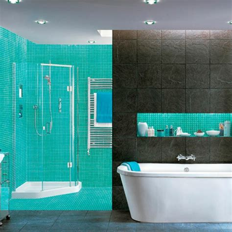 le carrelage mosaique pour la d 233 co de la salle de bains archzine fr