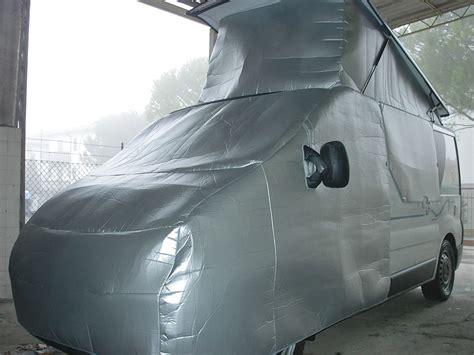 vetrina di prodotti copricabina overcoat isolante termico per cer realizzato da larcos