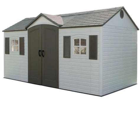 lifetime 6446 outdoor storage shed large outdoor sheds