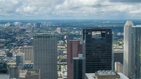 view towards the houston tx galleria seen from the
