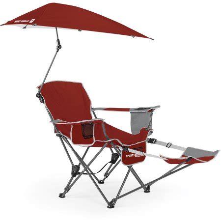sport brella recliner chair firebrick walmart
